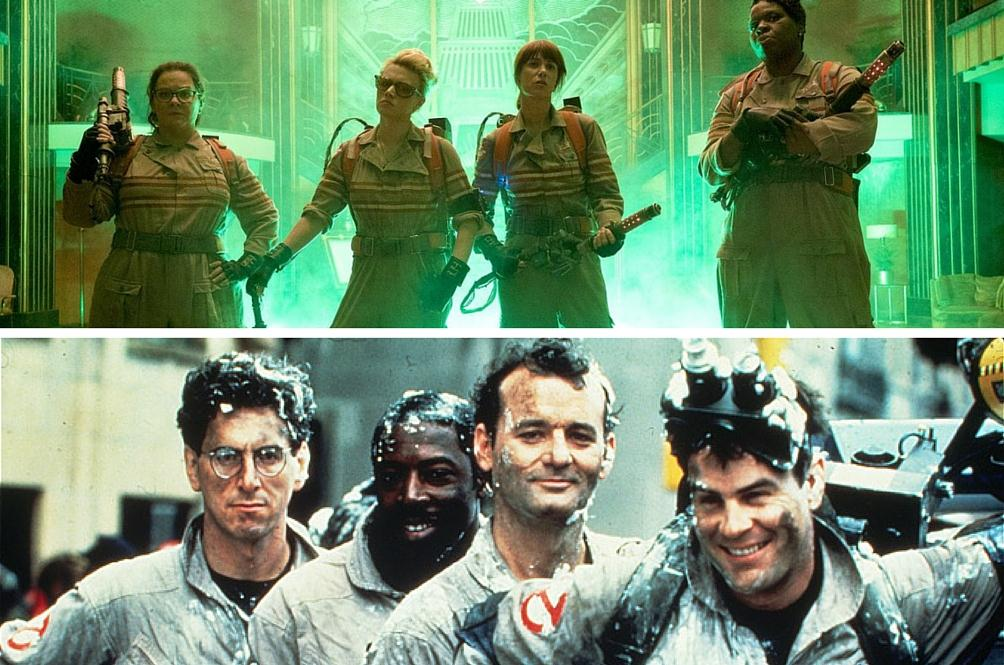 The Old and New Ghostbusters Unite!