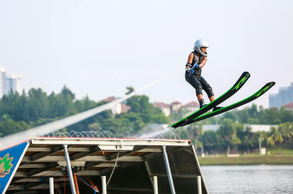 This 13-Year-Old Malaysian is a Champion Water Skier, and She's More Relatable Than You Think
