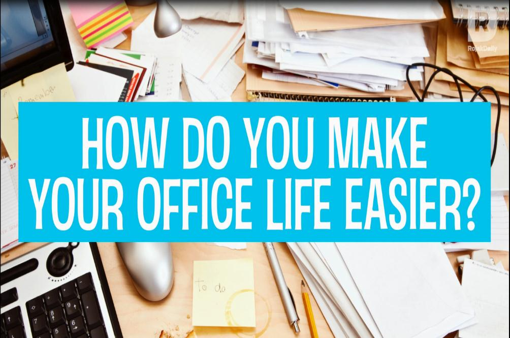 [VIDEO] Here's How You Can Make Your Office Life Easier